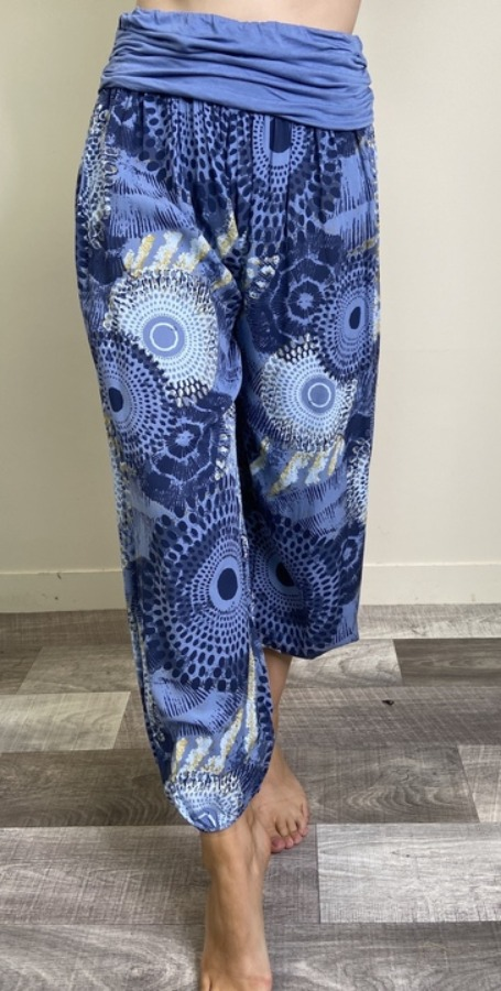 Patterned Harem pants