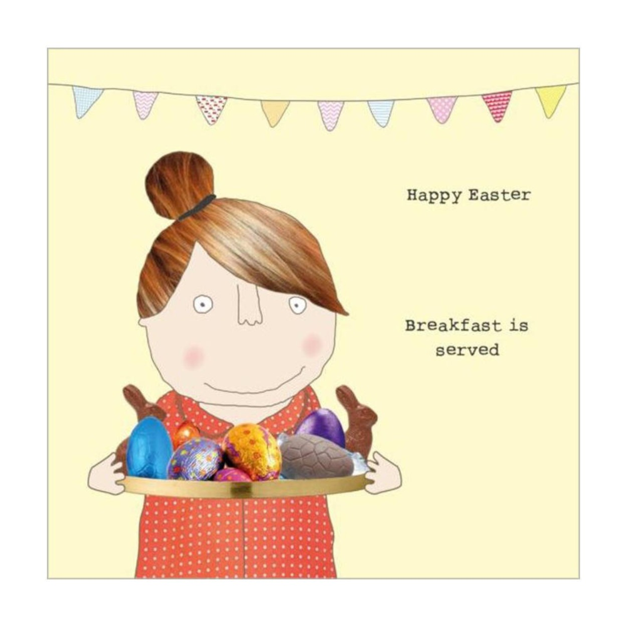Rosie made thing Easter card
