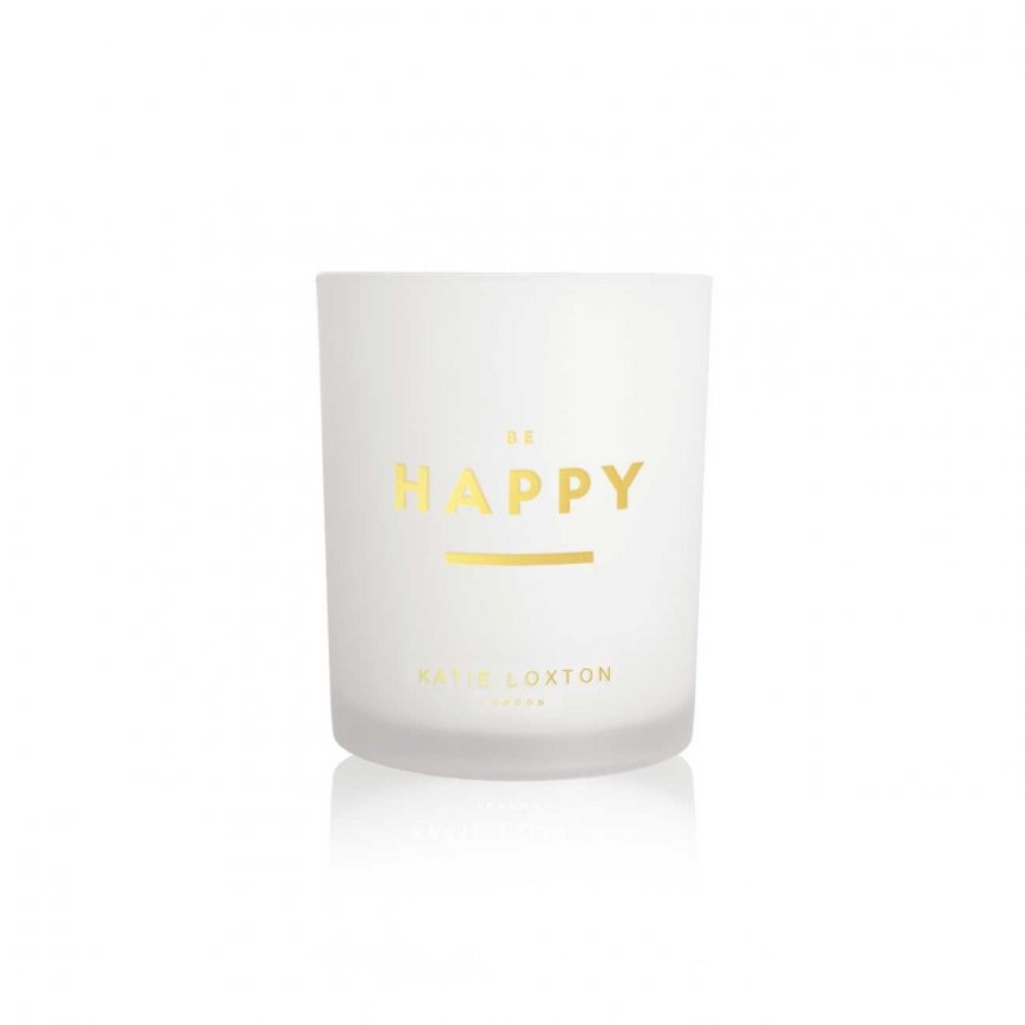 Katie Loxton 'Be Happy' scented candle