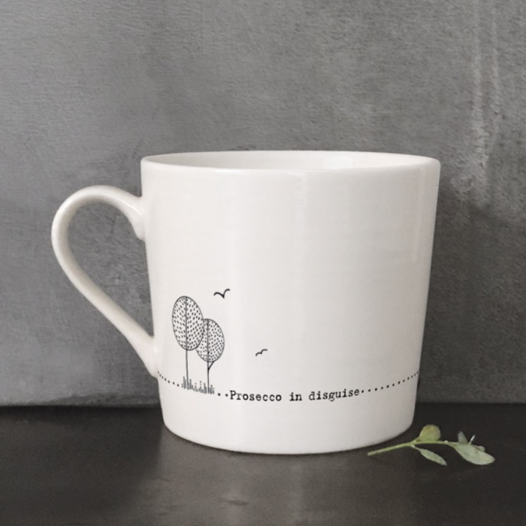 Prosecco in Disguise boxed mug