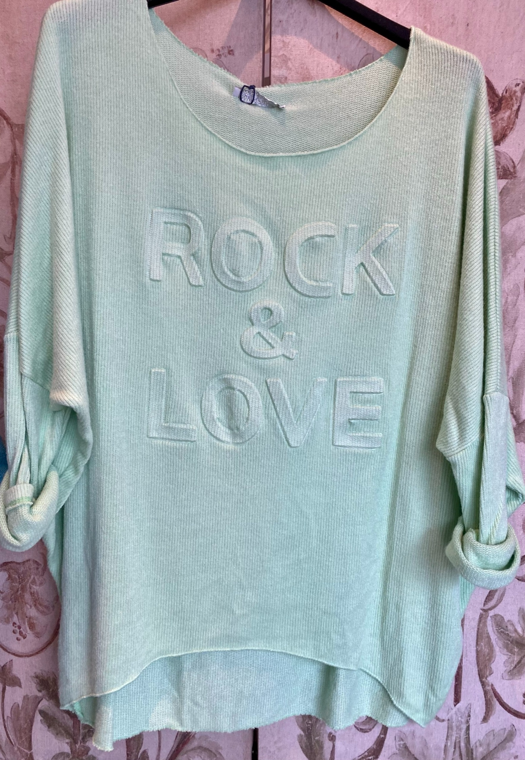 Rock & Love fine ribbed knit top