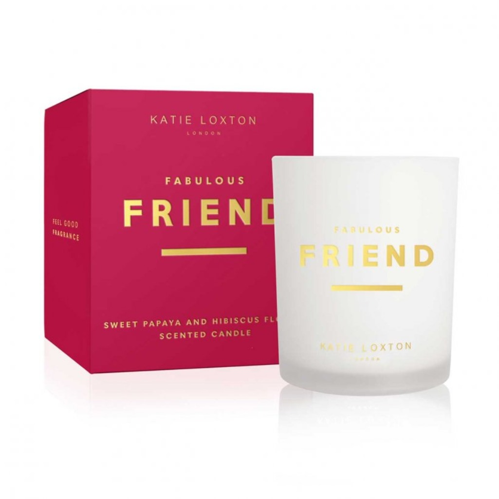 Katie Loxton Fabulous Friend scented candle