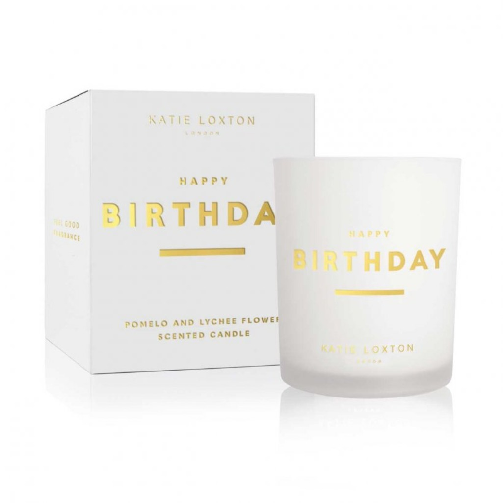 Katie Loxton Pomelo & Lychee Birthday candle