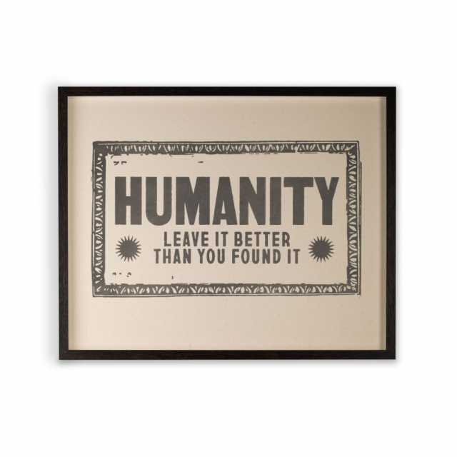 Humanity Print - Collection Only