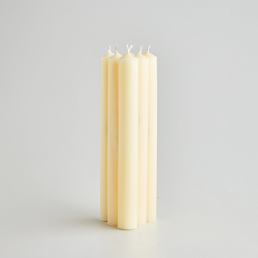 """7/8"""" Ivory Dinner Candles Gift Pack"""