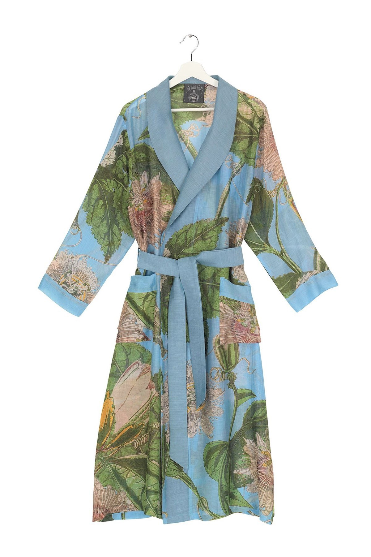 One Hundred Stars KEW Passion Flower Sky Gown