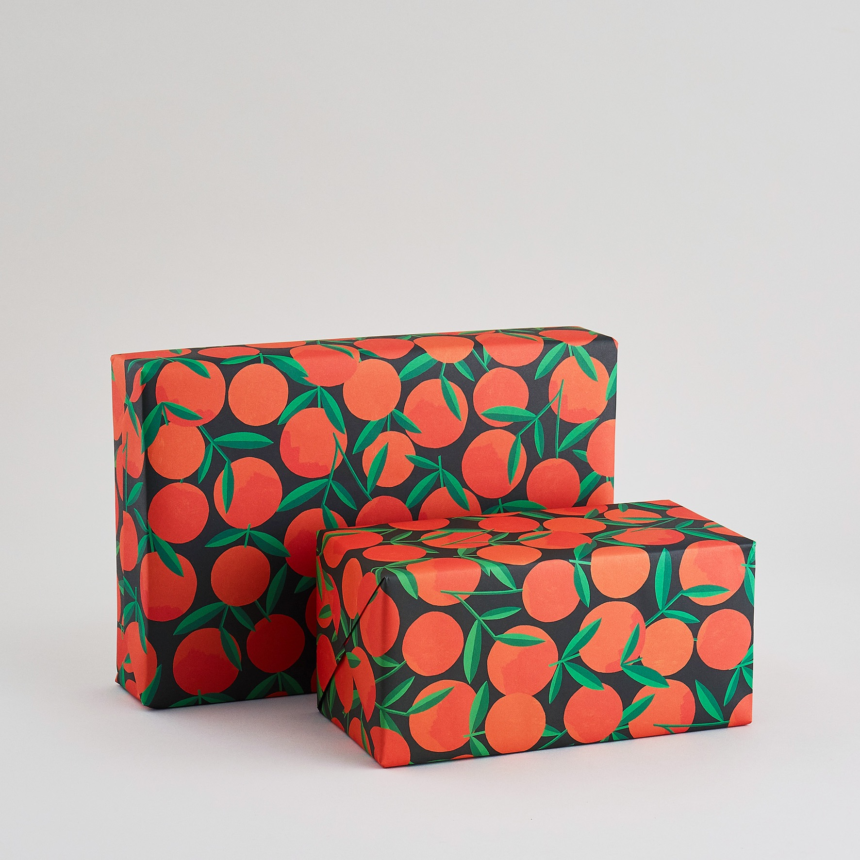 Clementines wrapping paper sheet