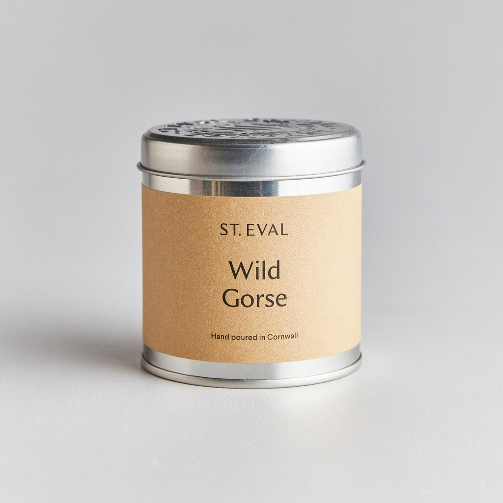 Wild Gorse Scented Tin Candle