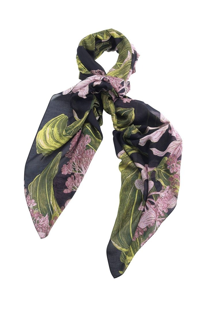 OHS X KEW RBG Marianne North Medinilla Scarf Regular price