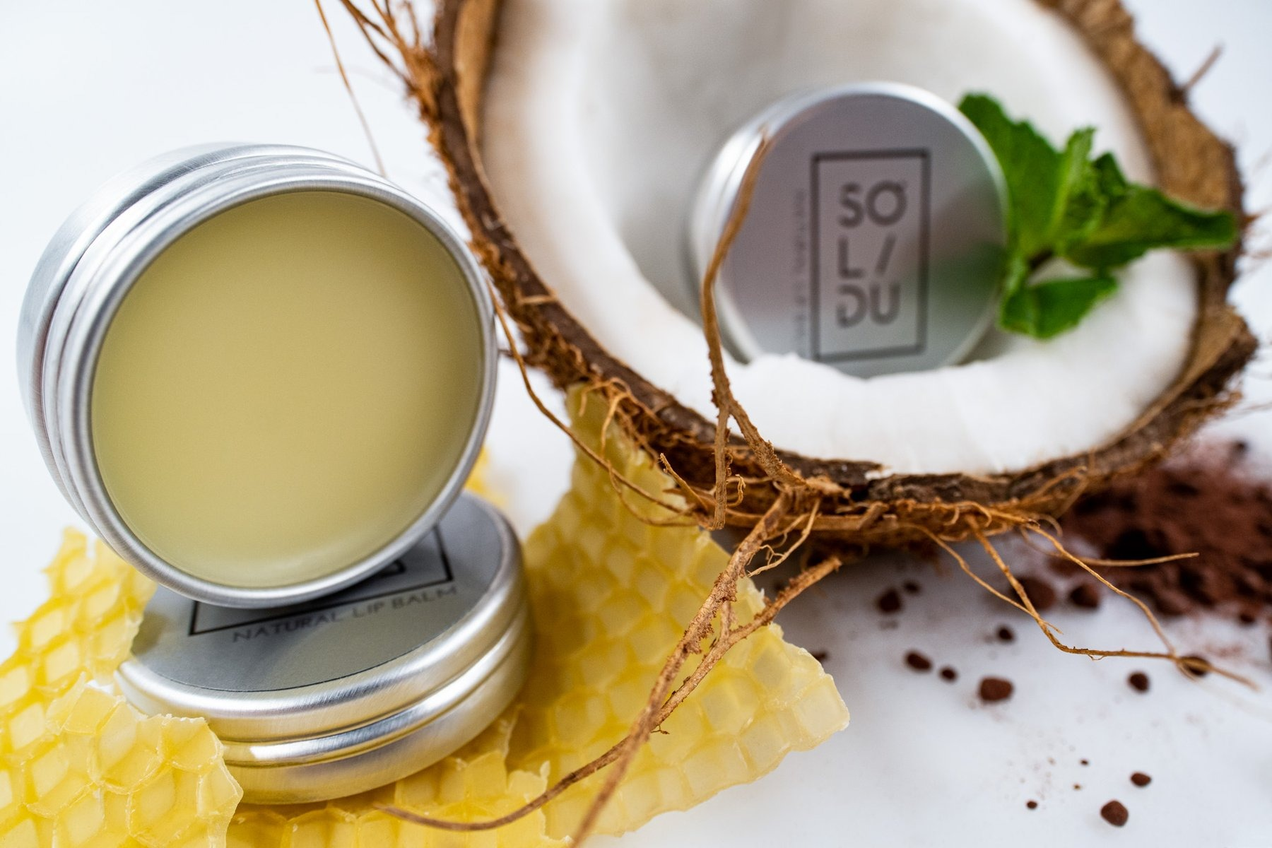 Solidu Natural Lip Balm
