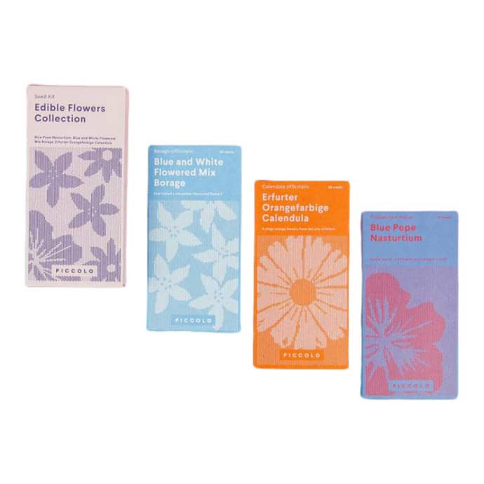 Piccolo Seeds Collection - Edible Flowers