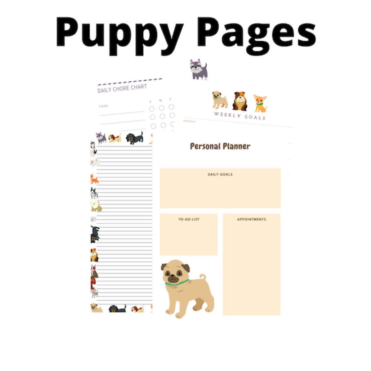 Free Puppy Pages