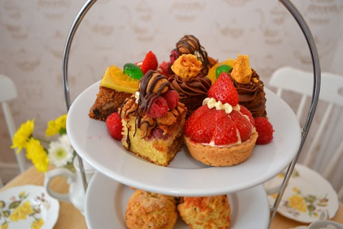 Special offer lockdown family afternoon tea.
