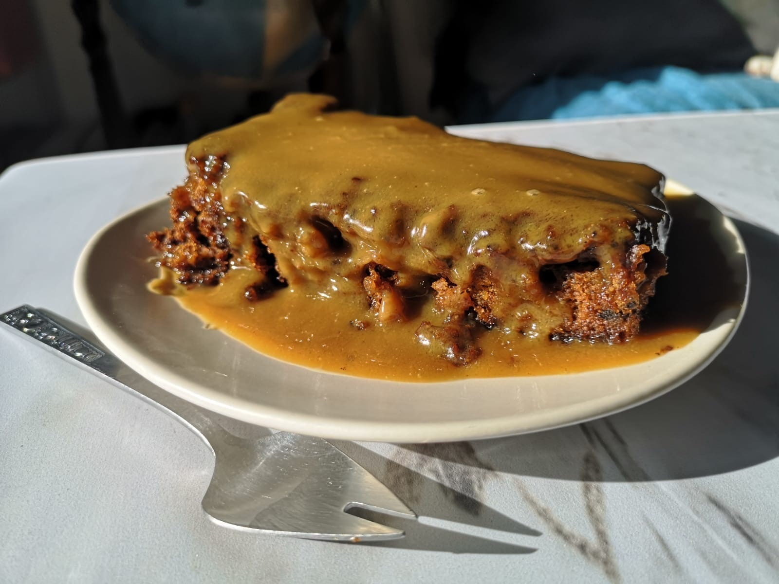 Sticky Toffee Pudding with toffee sauce - Serves 2