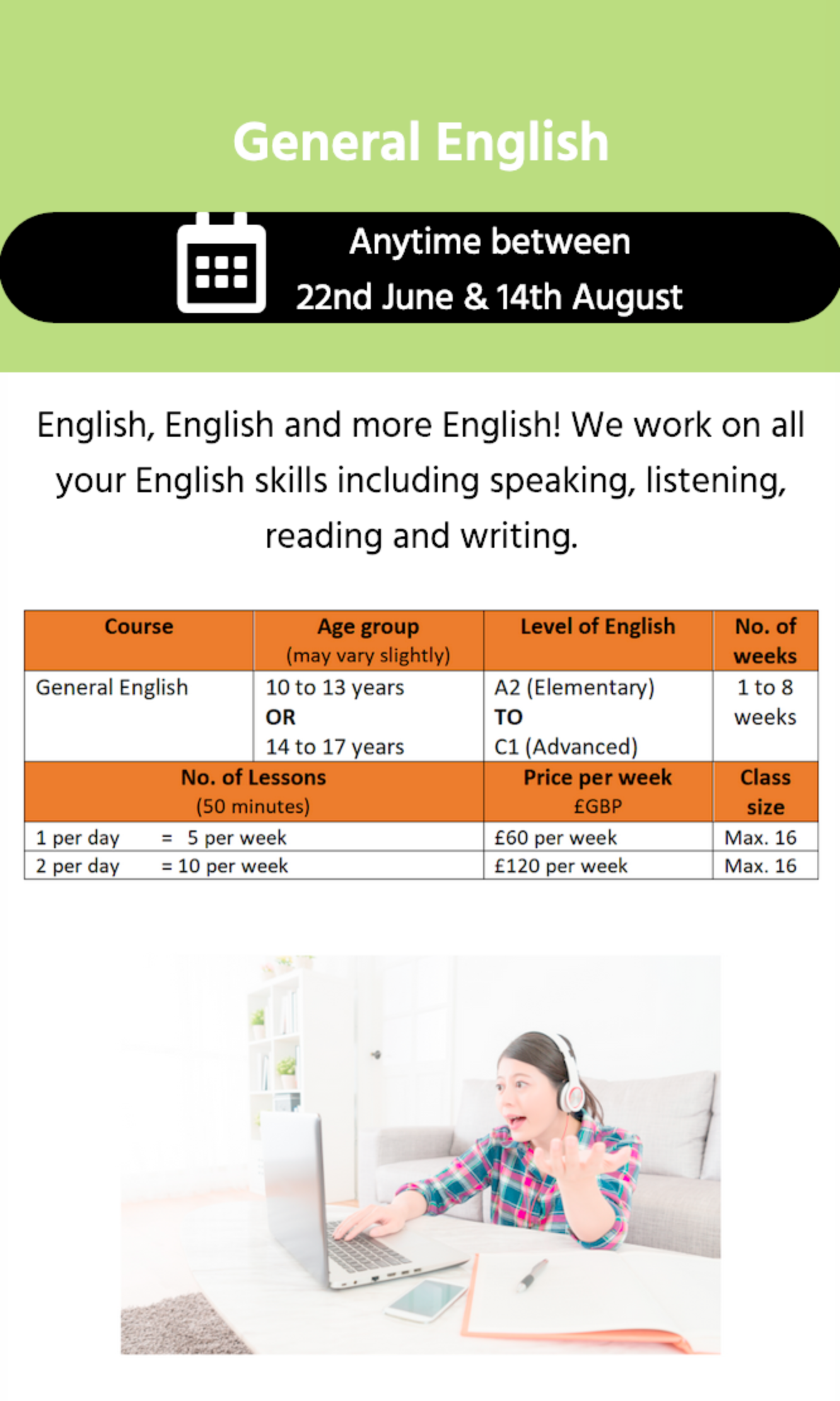 General English Classes
