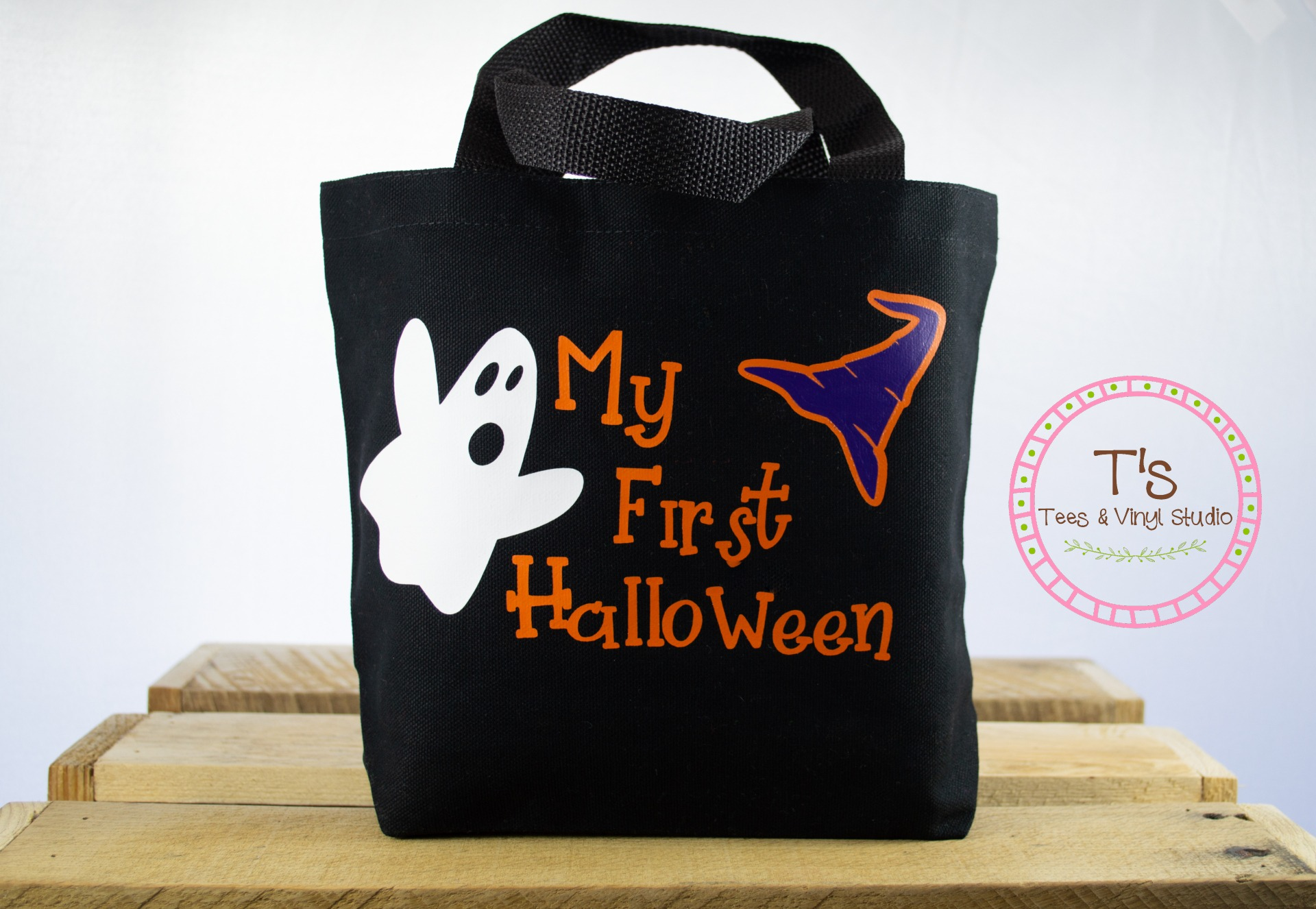 My First Halloween Trick Or Treating Tote Bag