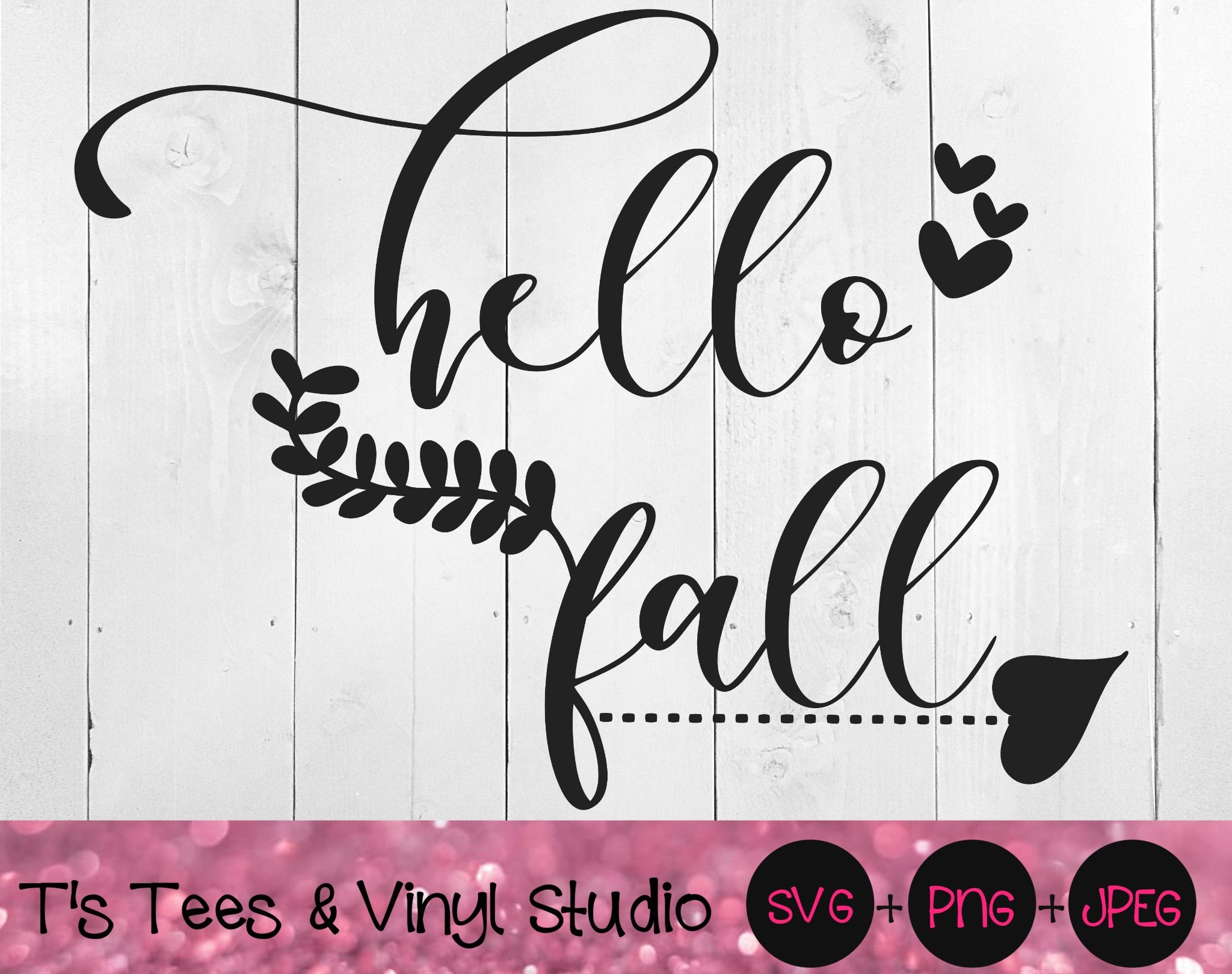 Hello Fall Svg, Autumn Svg, Falling Leaves Svg, Season Svg, Hello Fall Png, Autumn Png, Falling