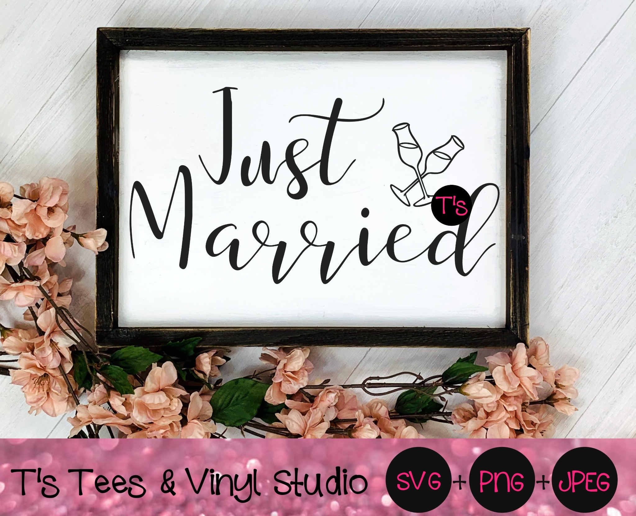 Just Married Svg, Married Svg, Marriage Svg, Mr and Mrs Svg, Bride and Groom Svg, Husband and Wife