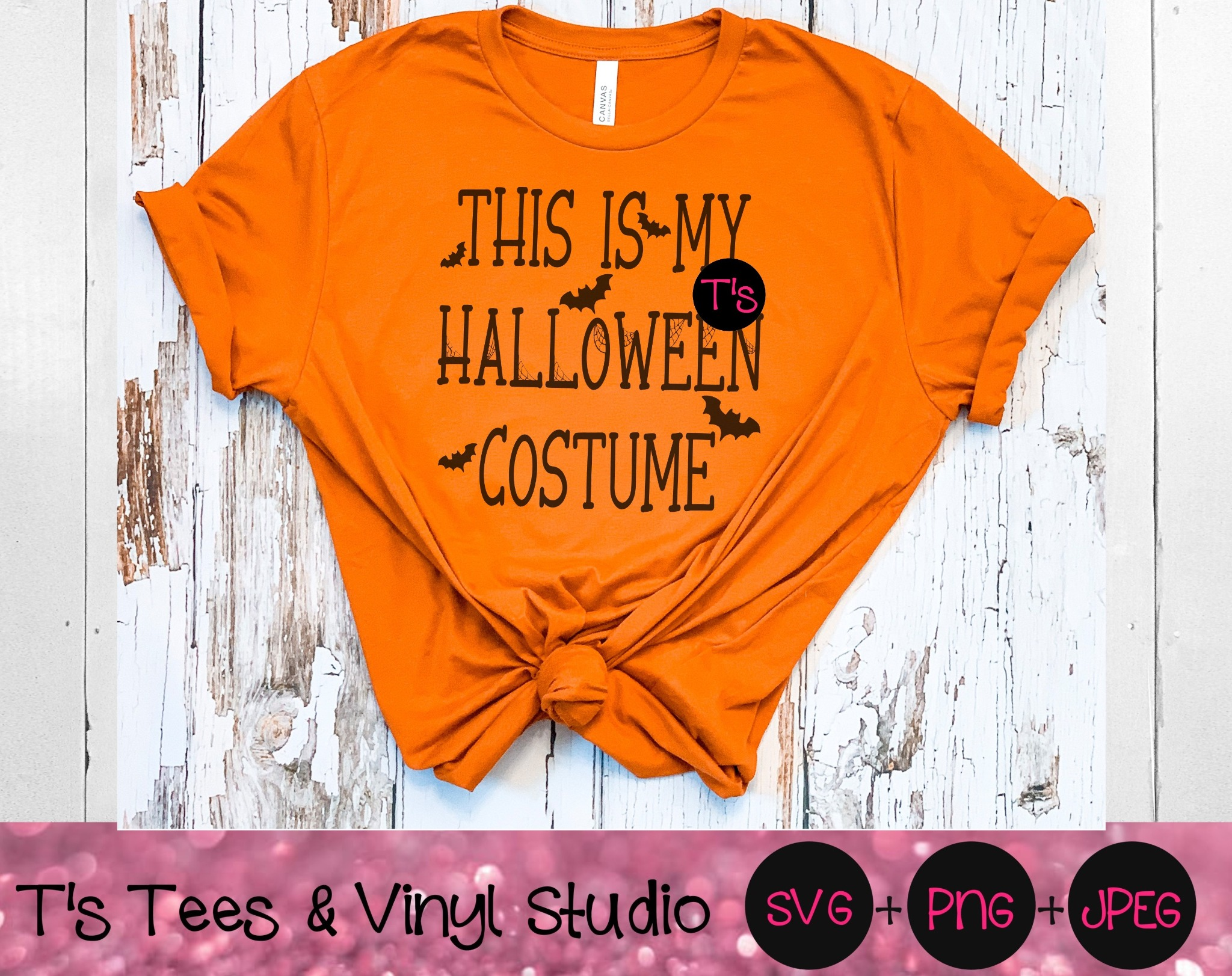 Halloween SVG, Halloween Costume Png, This Is My Halloween Costume, Dress Up Svg, Fall, Autumn, Part