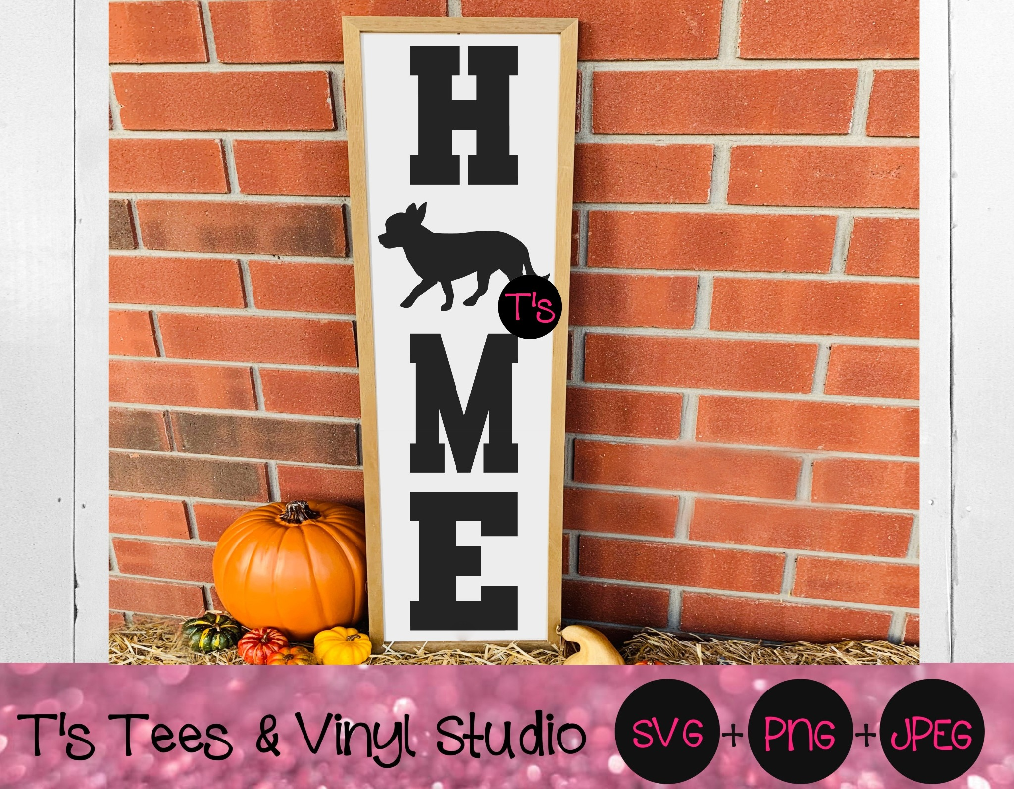 Chihuahua Svg, Home Svg, Welcome Svg, Porch Sign Svg, Chihuahua Sign Svg, Chihuahua Home Porch Sign