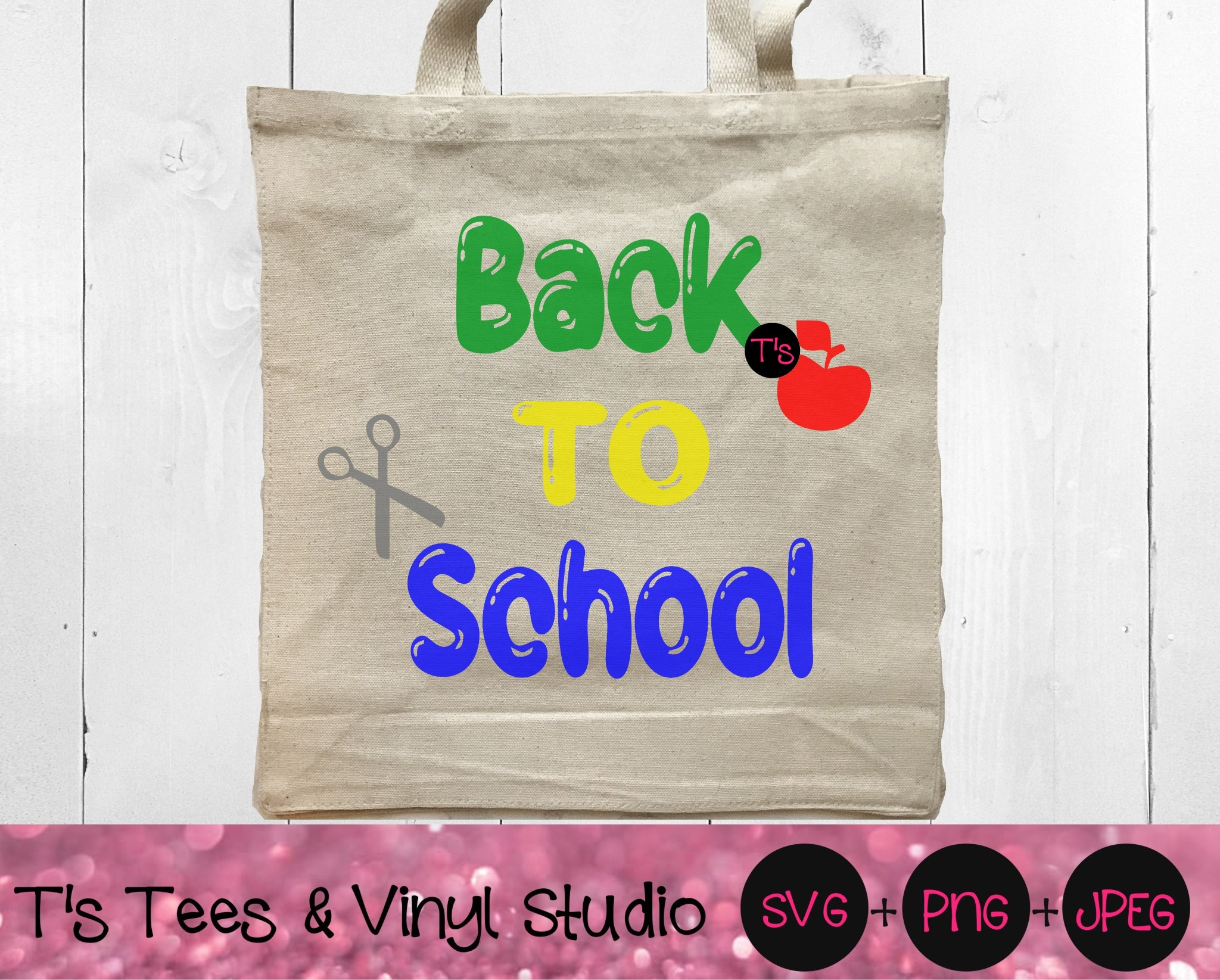 Back To School Svg, School Svg, Learn Svg, Time To Learn Svg, New School Year Svg, First Day