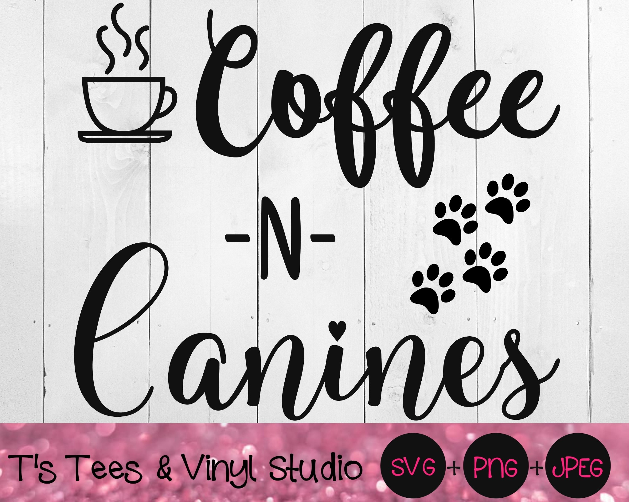 Coffee Svg, Dogs Svg, Canines Svg, Coffee Life Svg, Dog Life Svg, Coffee And Dogs Svg, Coffee Png