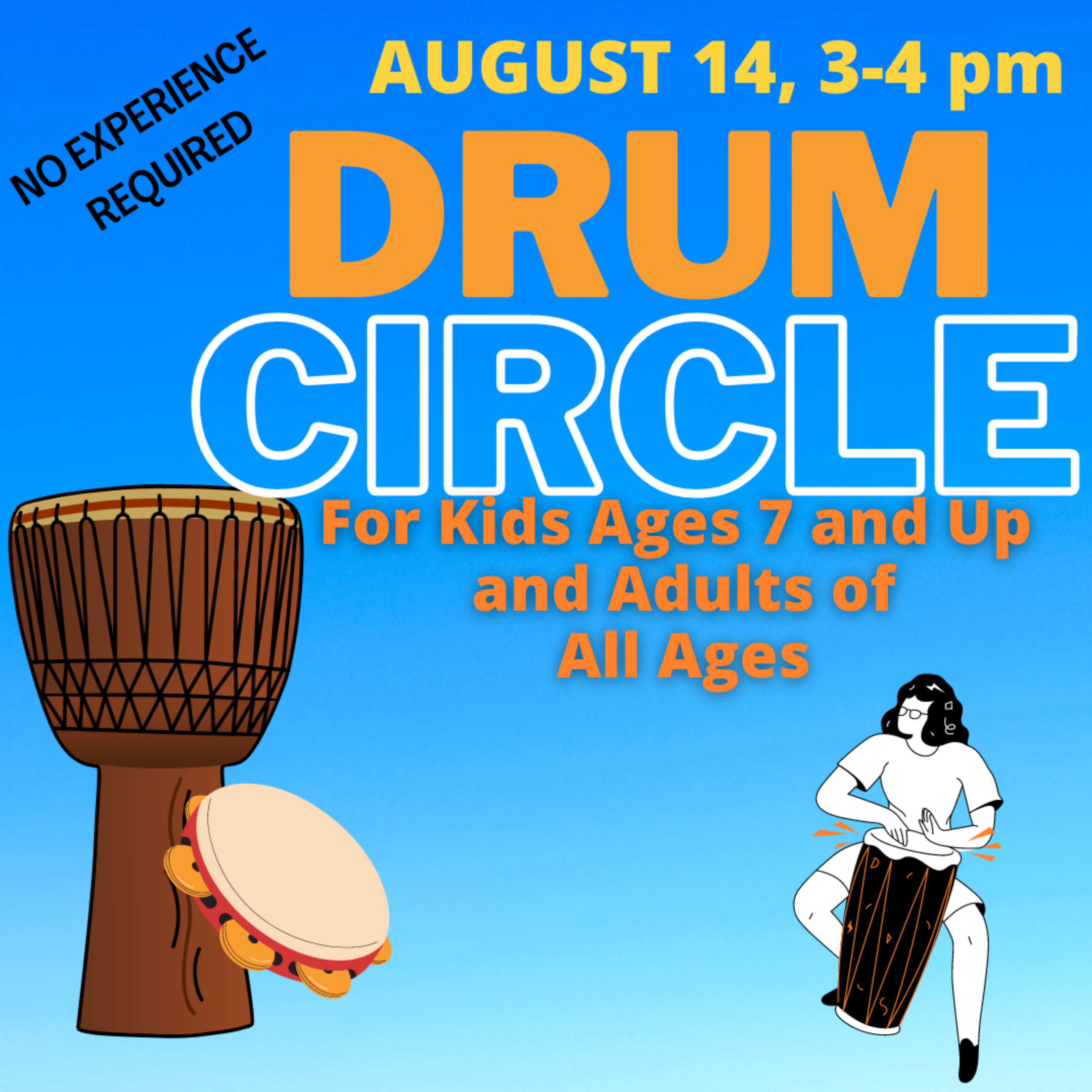 Drum Circle for Kids and Adults