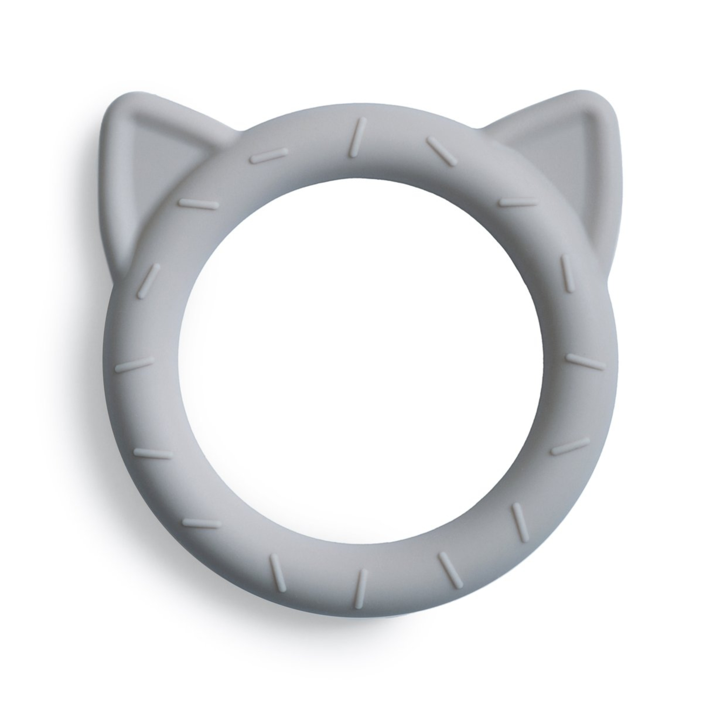 Mushie - Teether Beißring Cat Stone