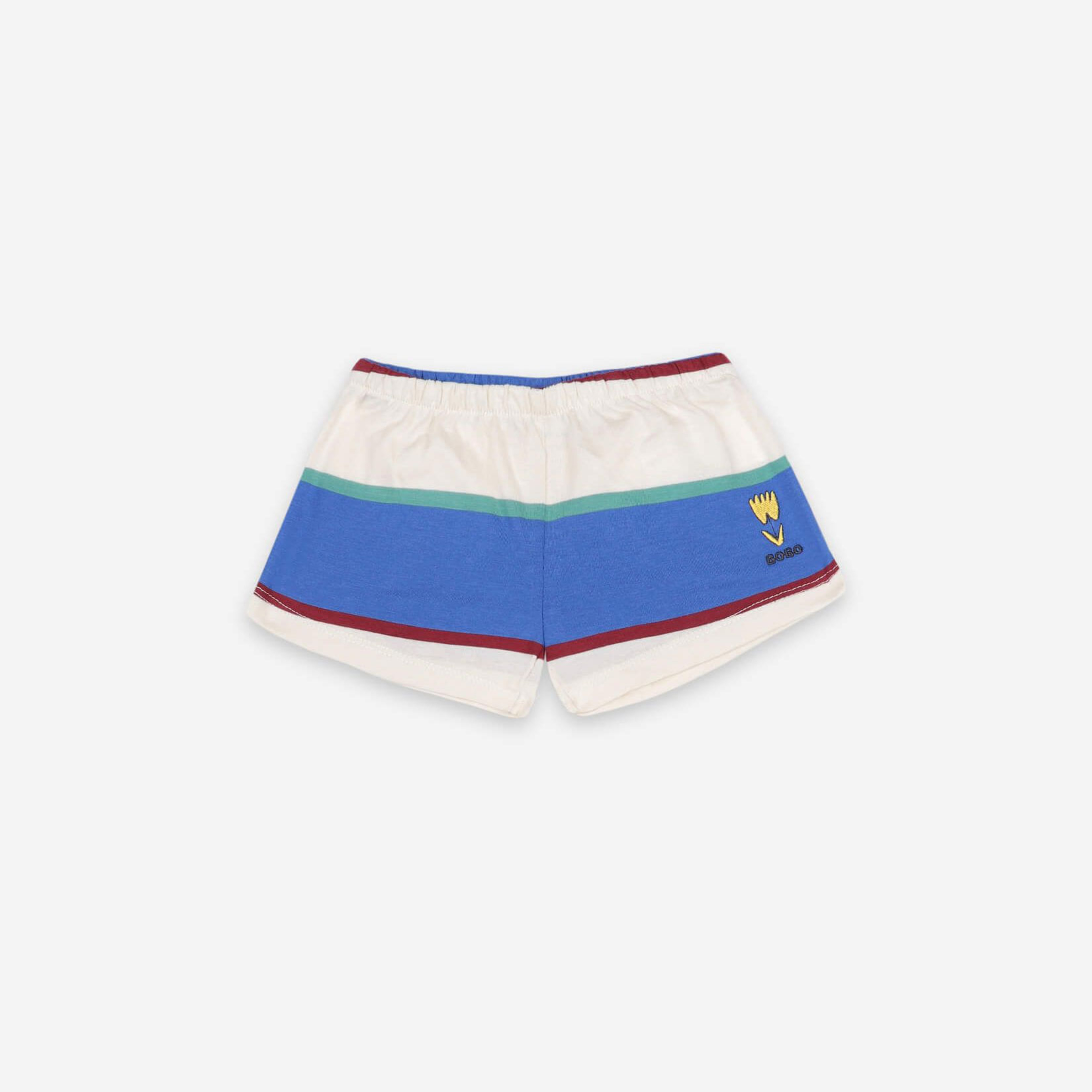 Bobo Choses - Stripes Jersey Shorts