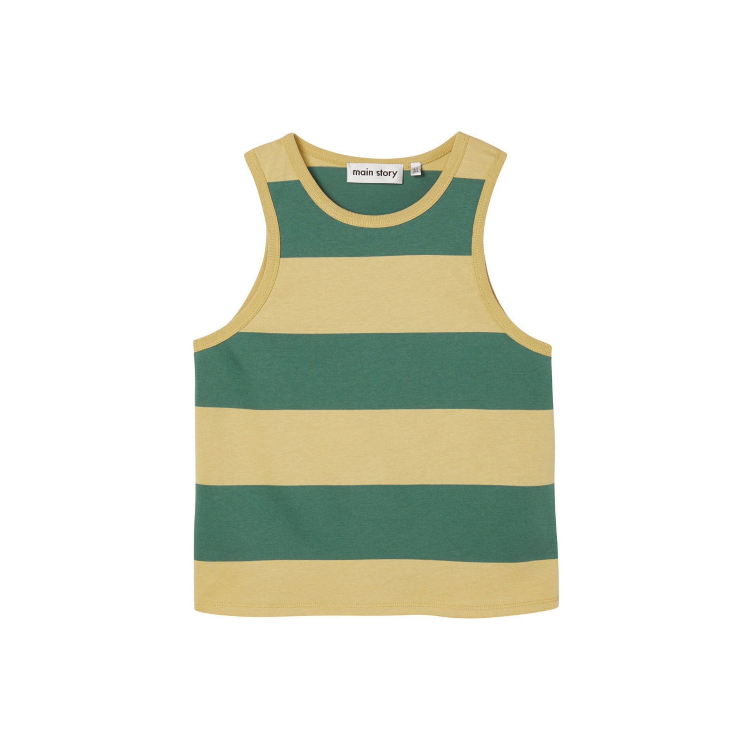 Main Story - Vest Hemp Stripe