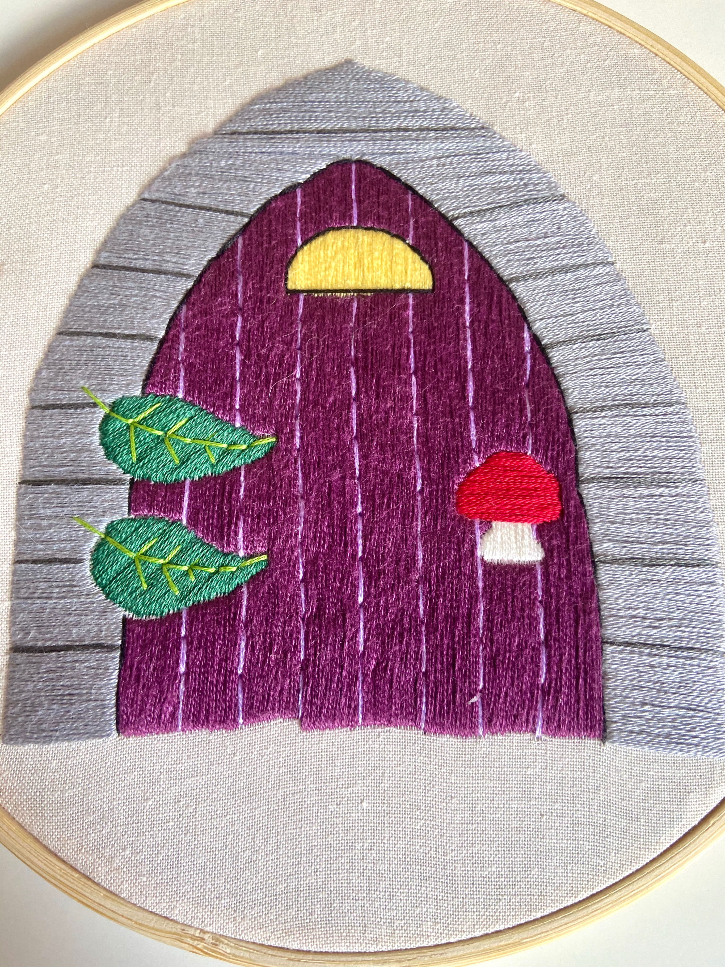Fairy Door Embroidery pattern (Digital product- PDF)