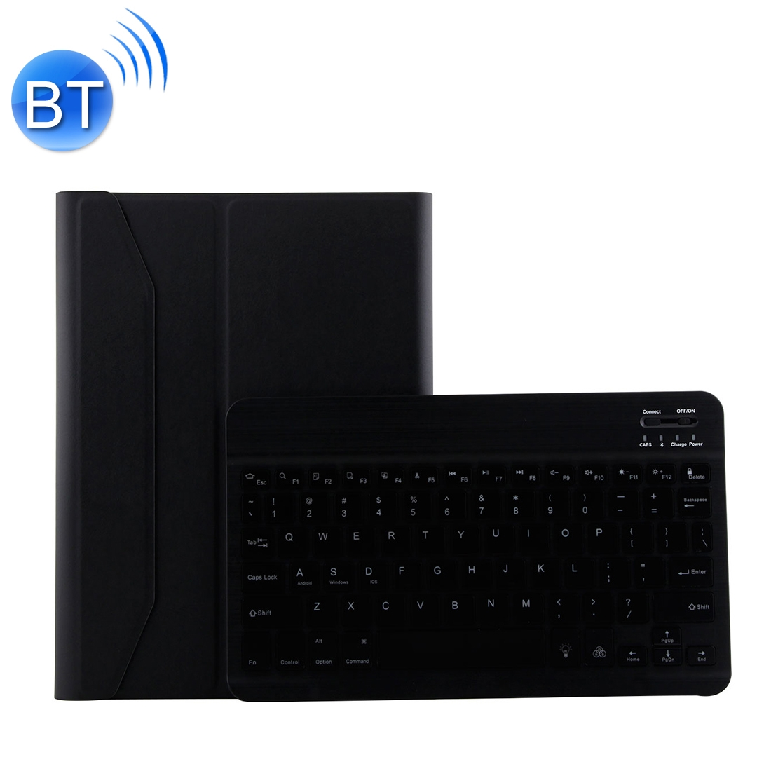 iPad Air 2 Case With Keyboard With Leather Case For iPad Air/Air 2/Pro 9.7 inch  (Black)