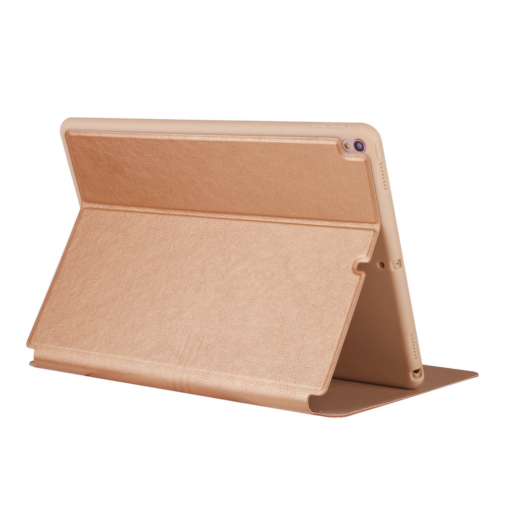iPad Air 3 Case (10.5 Inch) Full Coverage Protective Case with Sleeves (Gold)