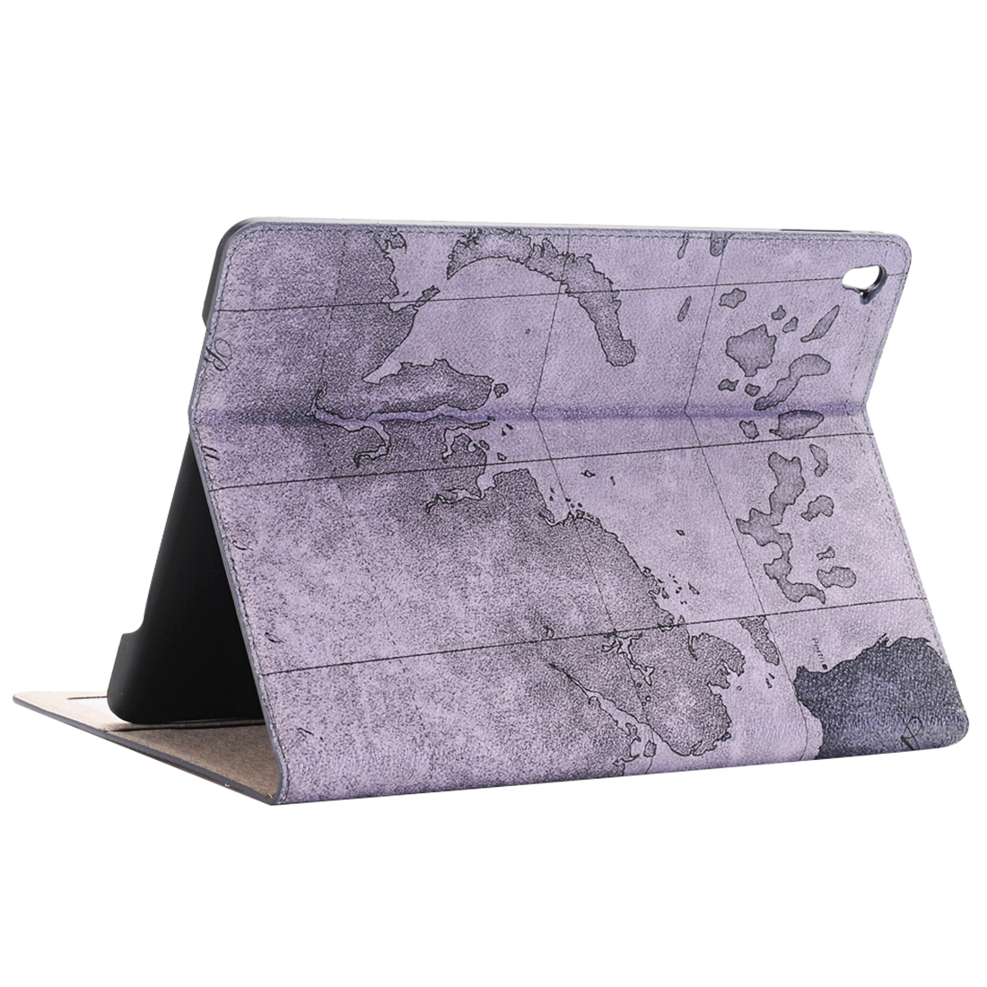 Map Leather iPad Air 2 Case (9.7 Inch) Slim Profile Random Pattern Delivery