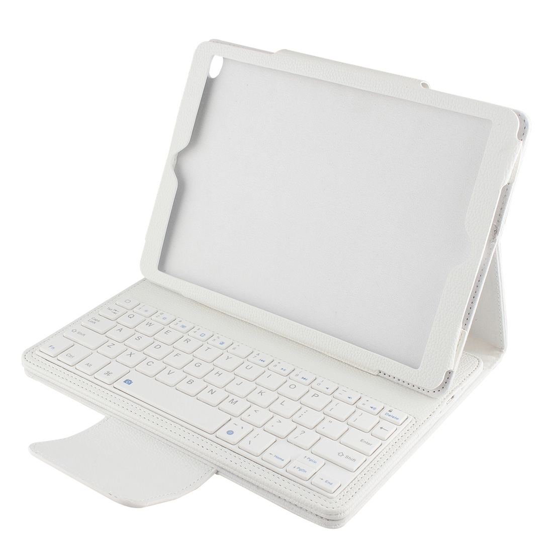 iPad Air 2 Case With Keyboard For iPad Air 2, iPad 6th Gen., Leather Case & Bluetooth (White)