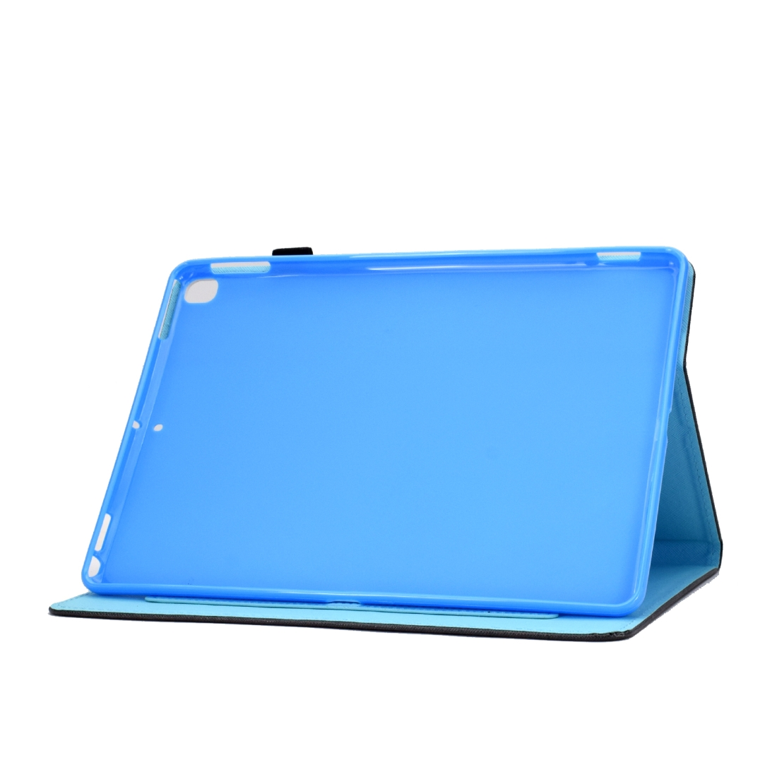 iPad 7th Generation Case (10.2 Inch) Leather With Sleeves, Pen Holder & Auto Sleep (Antique Clock)