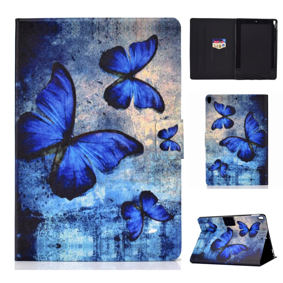 Artsy Protective iPad Air 3 Case (10.5 Inch), iPad Air (2019), Auto Sleep,  Non-slip (Butterfly)