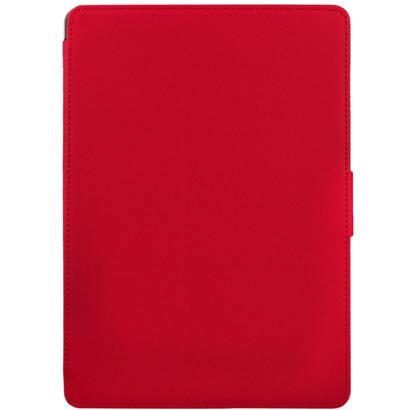 Cloth Texture Leather Case with Sleep/ Wake up Function For iPad Air (Red)