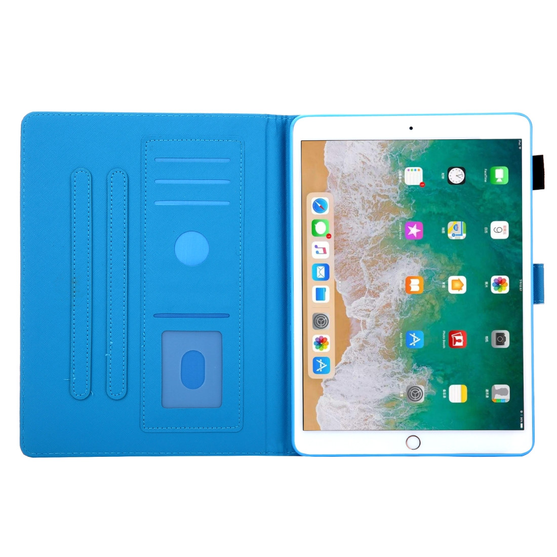 3D Leather Case with Sleeve  iPad 10.5 Case (Cat)