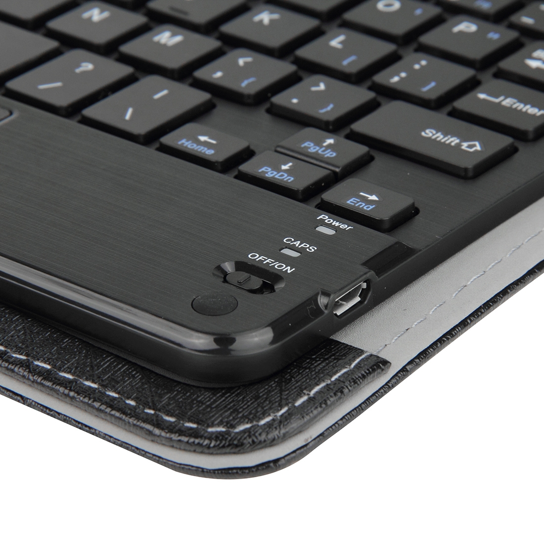 Wireless Bluetooth Keyboard For iPad, Compatible With 7 Inch iSO & Tablets (Black)