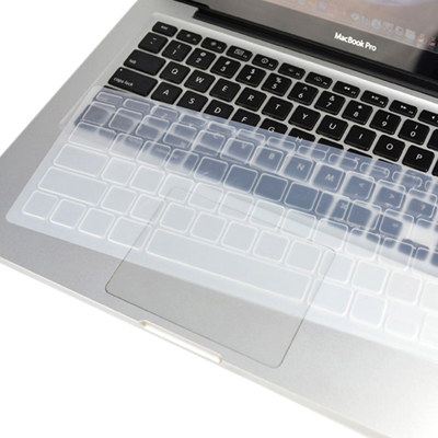 Macbook Air Keyboard Cover For Air 11.6 inch (US) / A1370 / A1465/ Soft Silicone (Transparent)