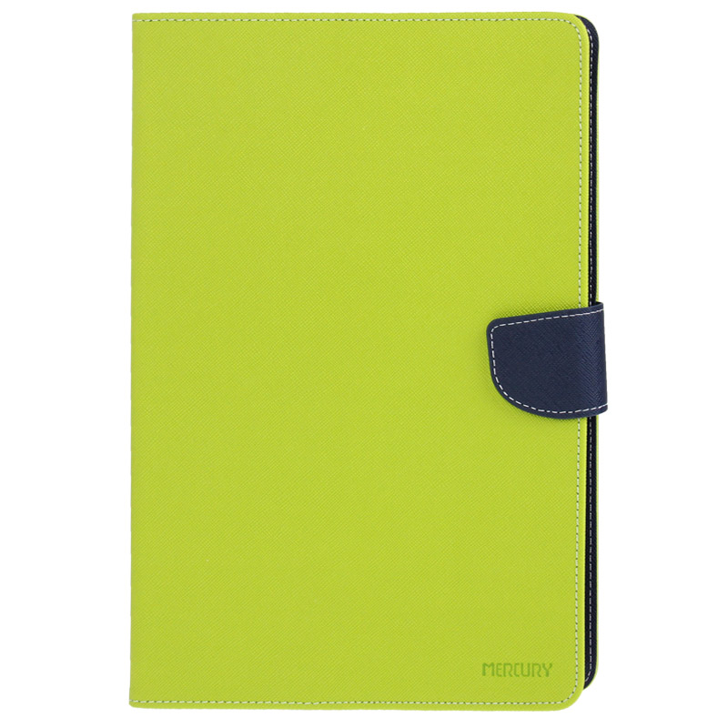 iPad Air Case Cross Texture Leather Case with Sleeve & Slim Profile (Green)