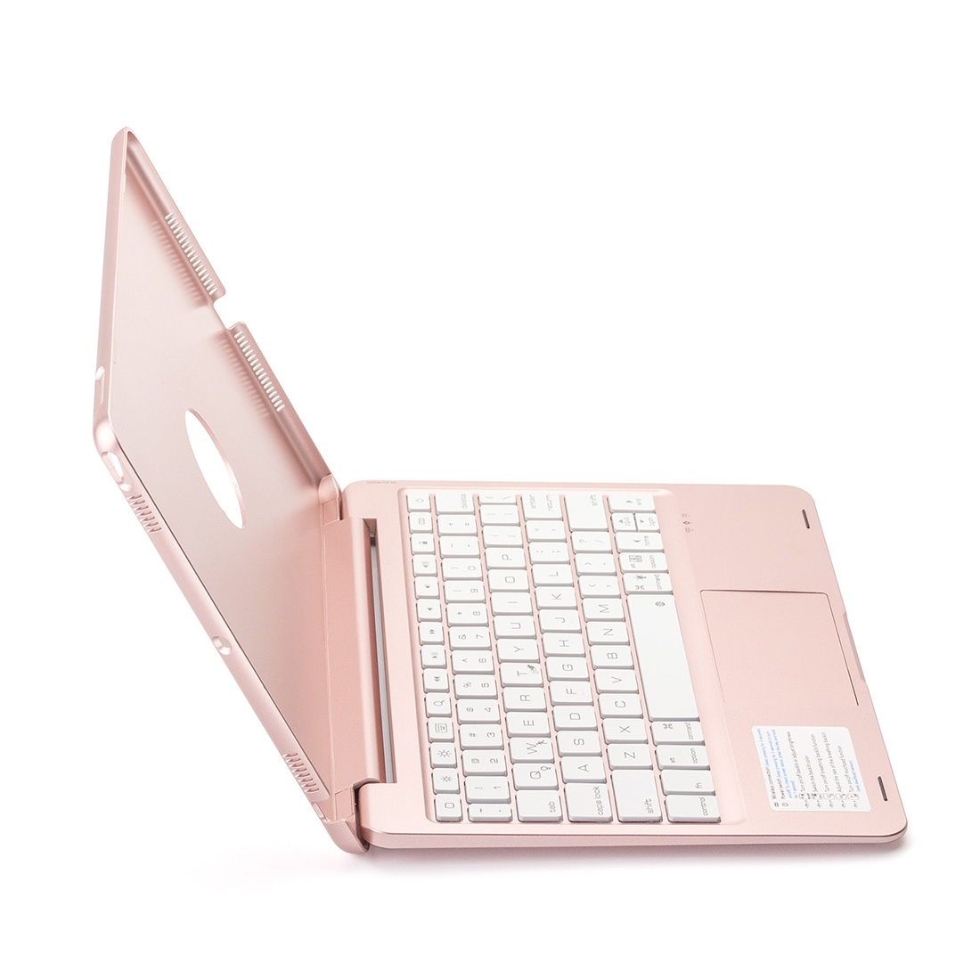 iPad Case With Keyboard For iPad, Air 2, Air 1, Pro 9.7, With Bluetooth & Touchpad