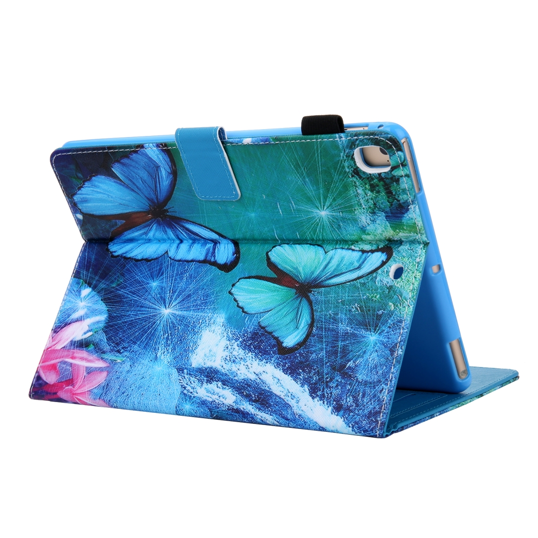 3D Leather Case with Sleeve  iPad 9.7 Case (Waterfall Butterfly)