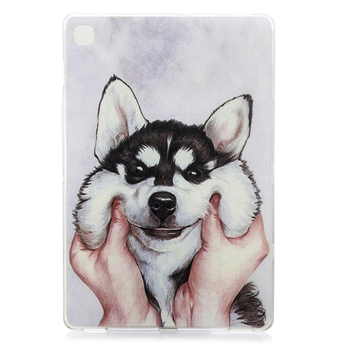 For Galaxy Tab S5e T720 Artistic Pattern Durable Case (Husky)