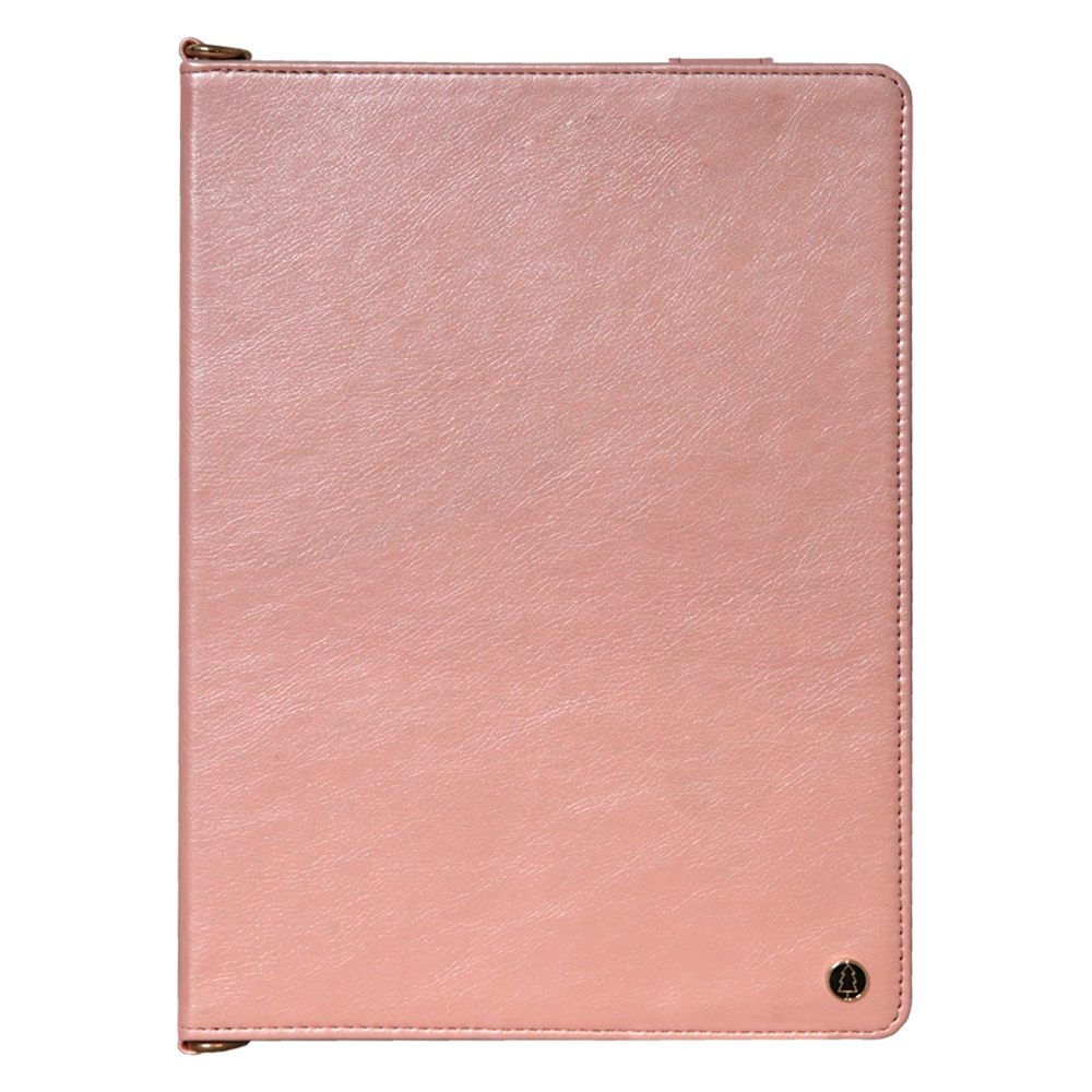 iPad 7th Generation Case (10.2 Inch)  Leather Case, Pen Holder & Slim Profile (Rose)