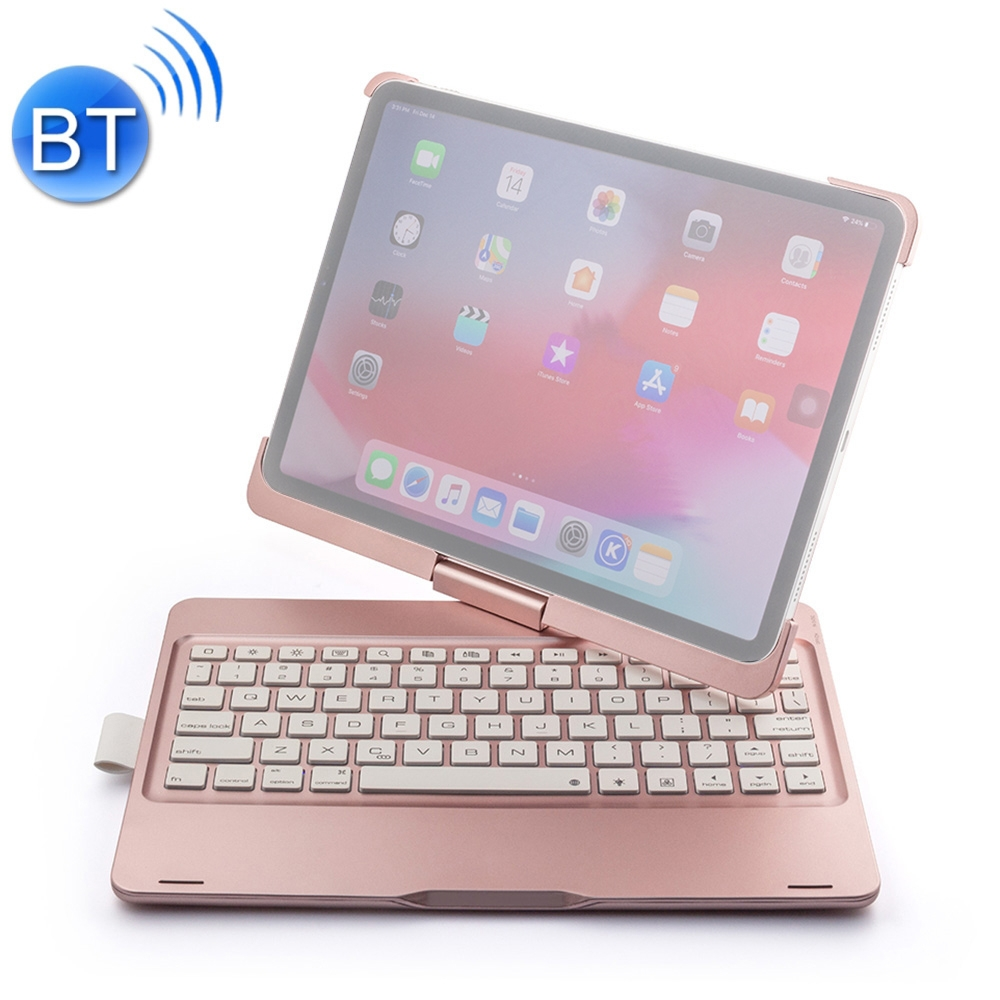 iPad Pro 11 Case With Keyboard For iPad Pro 11 (2018), With Bluetooth & Leather Case