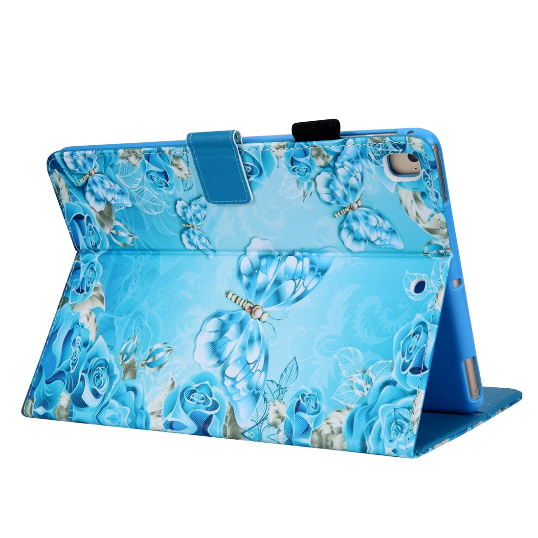 Crystal Butterfly Leather iPad Air Case/ Air 2/ iPad Pro 9.7 2016/ iPad 9.7 2017/ 9.7 2018