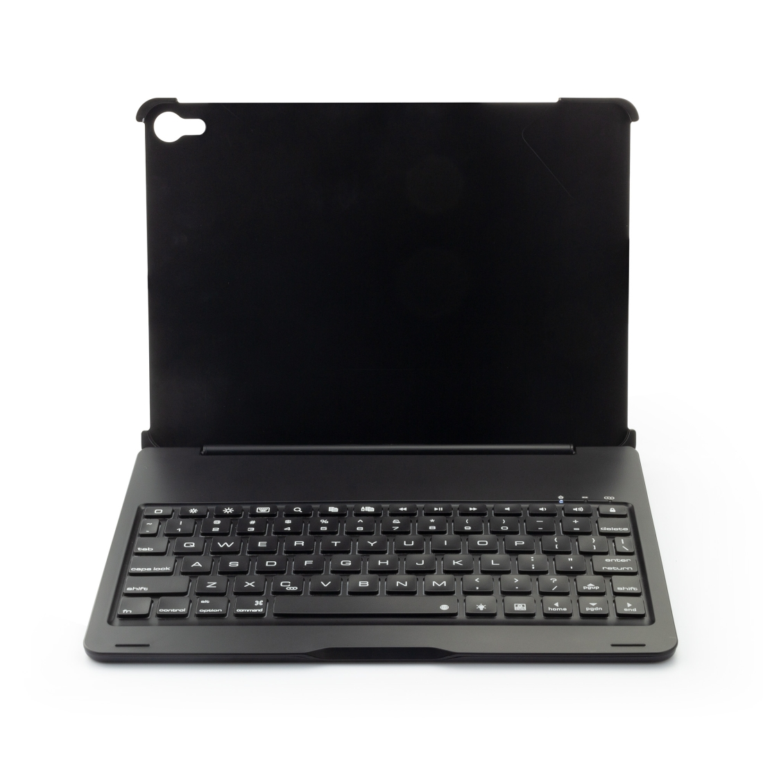 iPad Pro 11 Case With Keyboard (2018-20) & Backlit Keyboard (Black)