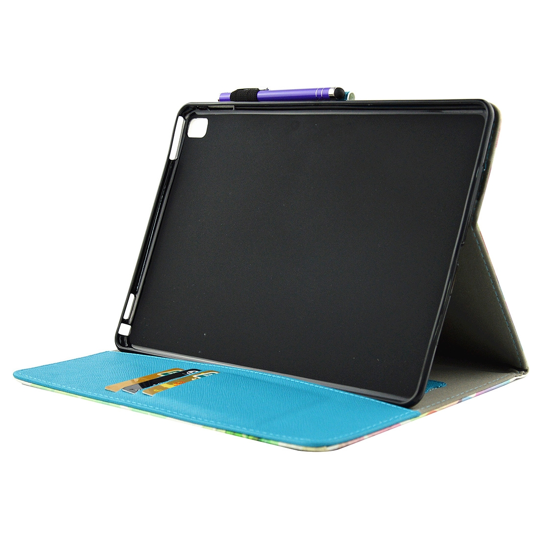 Artsy Leather iPad Air 2 Case (9.7 Inch) With Slim Profile, Sleeves, Auto Sleep, Pen Holder
